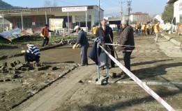 Sanayi Sitesi Yol düzeltme Çalışmaları Yeniden Başladı