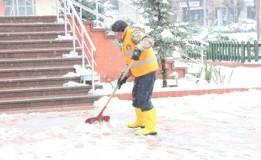 Taşova Belediyesinden kış tedbirleri