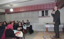 """""""Kadın Gözü İle Taşova"""" Konulu Toplantı Düzenlendi"""