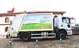 Taşova Belediyesi'ne Yeni Çöp Toplama Aracı Hibe Edildi