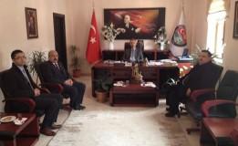 Taşova Devlet Hastanesinden Başkan ÖZTÜRK' e Ziyaret