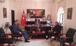 SGK İl Müdürlüğünden Başkan ÖZTÜRK' e Ziyaret