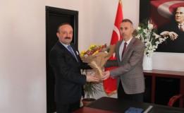 Vergi Dairesi Müdürü SÖNMEZ' den Başkan ÖZTÜRK' e Ziyaret