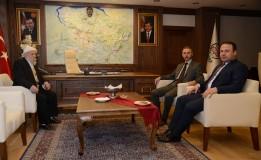 Başkan ÖZTÜRK' den Erbaa Belediye Başkanı Hüseyin YILDIRIM' a Ziyaret