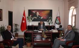 Amasya Spor İl Müdüründen Başkan ÖZTÜRK' e Ziyaret