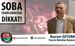 Belediye Başkanımız Bayram ÖZTÜRK ' den Soba Zehirlenmelerine Karşı Uyarı