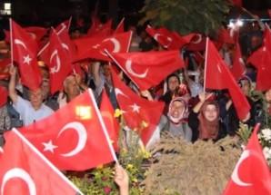 Taşova Demokrasi Nöbetinde Öne Çıkanlar