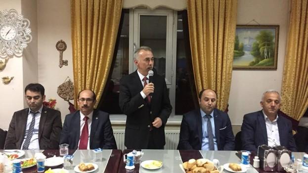 Belediye Başkanımız Bayram ÖZTÜRK, 24 Kasım Öğretmenler Günü Nedeniyle Eğitim Çalışanları İle Bir Araya Geldi.