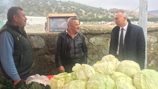 Belediye Başkanımız Bayram Öztürk'ten Pazarcı Esnafına Ziyaret.