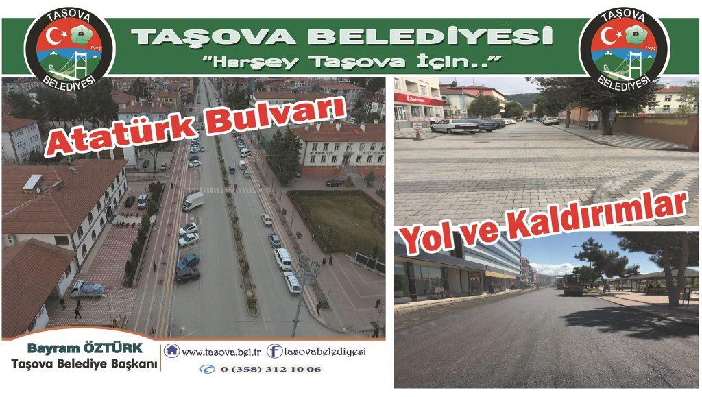 Atatürk Bulvarı ve Yol Kaldırımlar