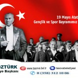 Belediye Başkanımız Bayram ÖZTÜRK 19 Mayıs Gençlik Ve Spor Bayramı Dolayısıyla Bir Mesaj Yayımladı.