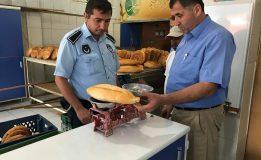 Belediyemiz Zabıta Müdürlüğü ekipleri, ilçede faaliyet gösteren fırınları Ramazan ayı nedeni ile denetledi.