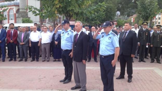 30 Ağustos Zafer Bayramı ve Türk Silahlı Kuvvetleri Günü düzenlenen törenle kutlandı