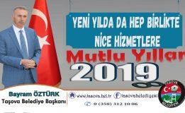 Belediye Başkanımız Bayram ÖZTÜRK' ün Yeni Yıl Mesajı