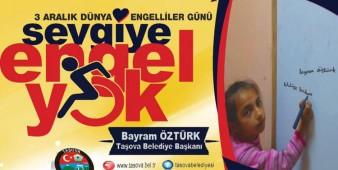 Belediye Başkanımız Bayram Öztürk 3 Aralık Dünya Engelliler Günü Nedeniyle Bir Mesaj yayımladı.