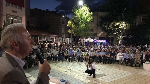 Taşova'da 15 Temmuz Demokrasi ve Milli Birlik Günü Etkinliği Düzenlendi