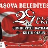 Belediye Başkanımız Sn; Bayram ÖZTÜRK 29 Ekim Cumhuriyet Bayramı nedeniyle bir mesaj yayınladı.