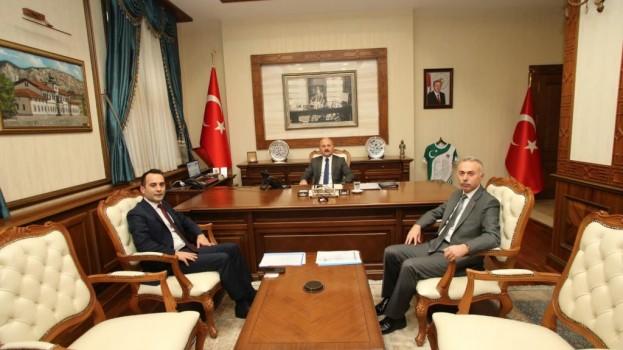 Başkan ÖZTÜRK'ten Vali VAROL'a Ziyaret