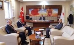 Başkan ÖZTÜRK'ten İl Tarım ve Orman Müdürü ŞENER'e Ziyaret