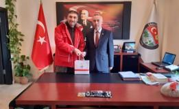 Kızılaydan Belediye Başkanımız Bayram Öztürk'e Ziyaret